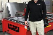 BOLDesign with his Swift-Cut Pro machine