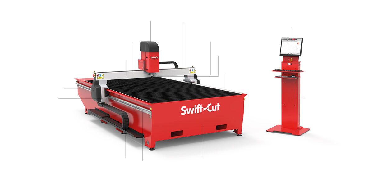 Swift-Cut pro machine