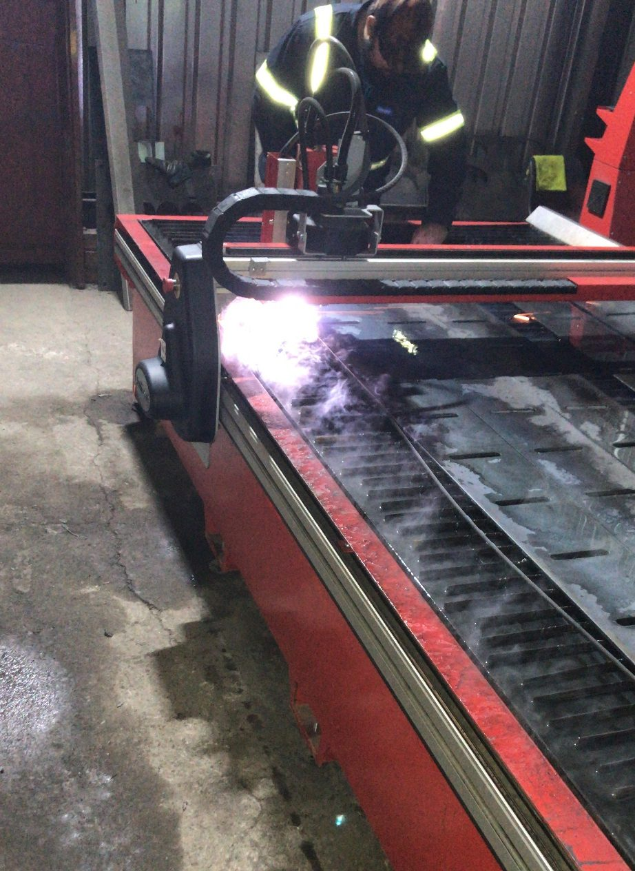 Charl Botha Swift Cut plasma cutting