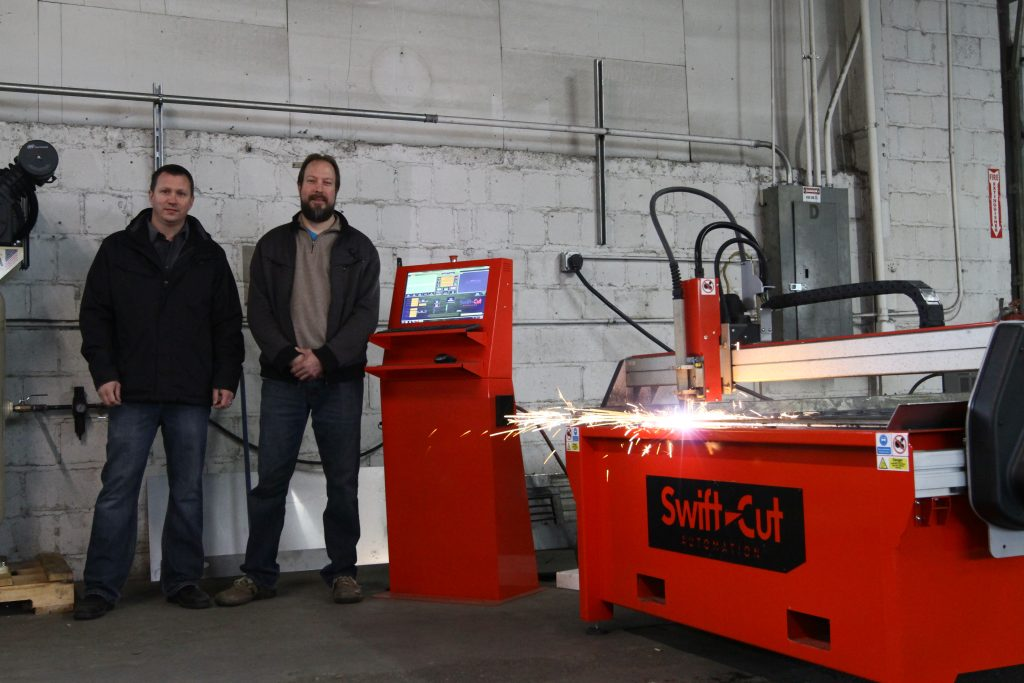 20mm Mild Steel 105 Amps Swift Cut Cnc Cutting Machines