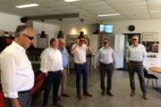 Local council visiting Swift Cut Automation on the TSB site