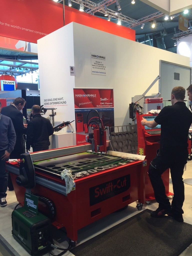 Swift - Cut at the Blechexpo in Stuttgart