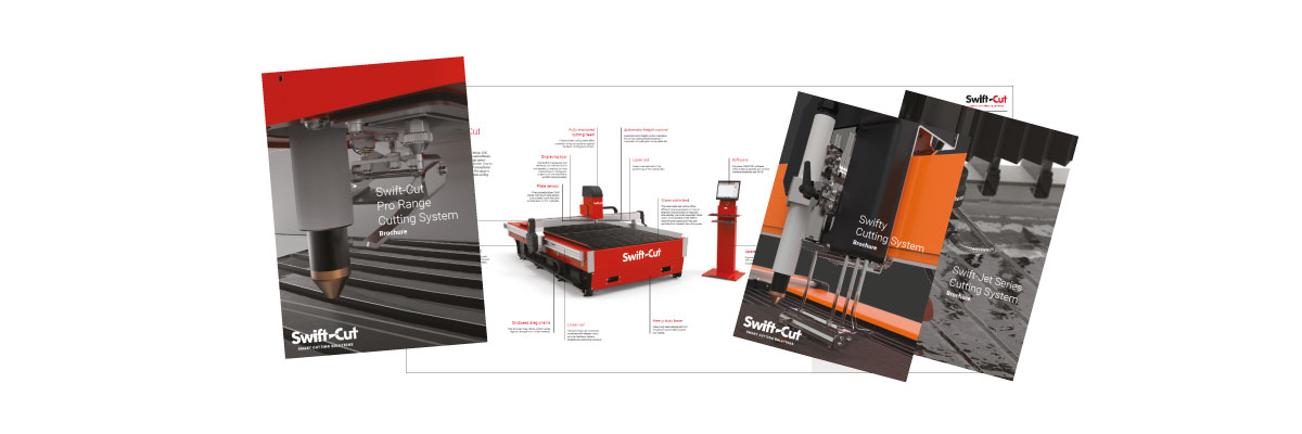 Swift cut brochures