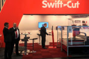 Swift-Cut demonstrating at Euroblech 2018