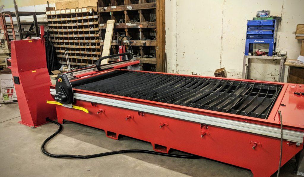 Swift-Cut Pro table CNC plasma cutting