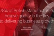 78 percent of British Manufacturers believe quality is the key to delivering business growth
