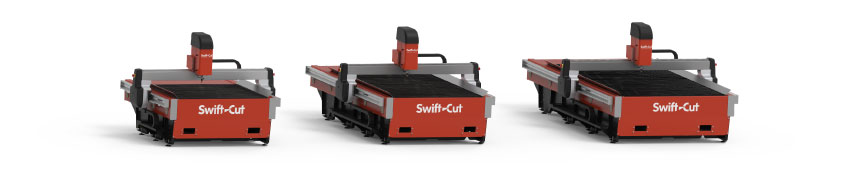 Swift-Cut Pro range of CNC plasma cutting tables