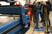 Swift-Cut UK open day October 2019 of the Swift-Jet CNC plasma cutting table