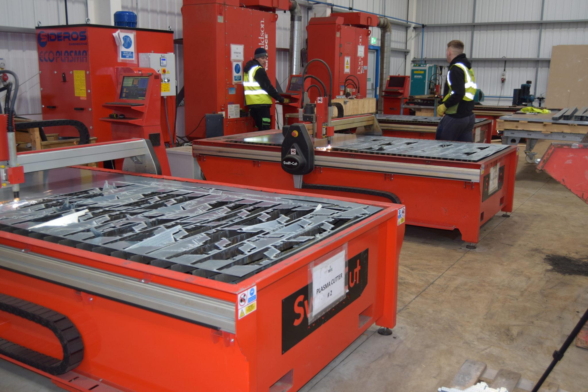 Swift-Cut Pro CNC plasma cutting table