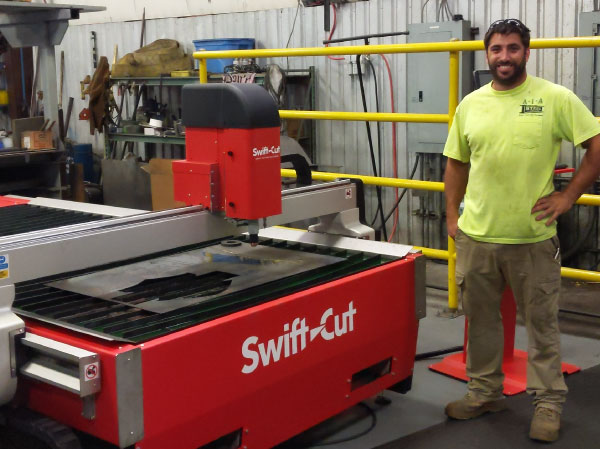 A1A Swift-Cut Pro CNC plasma cutting table