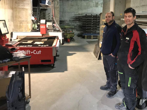 Swift-Cut Pro CNC plasma cutting table