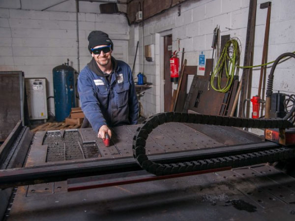Foursquare Swift-Cut Pro CNC plasma cutting table