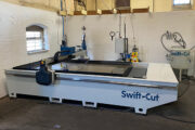New Swift-Jet Pro has finally made water jet CNC cutting a reality for established company